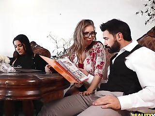 Lena Paul Helps Charles Dera To Plan Wedding And Orgasm