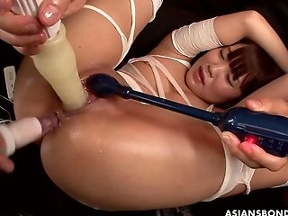 Japanese Gal In The Wheelchair Nene Masaki Takes Part In Crazy Gang-fuck
