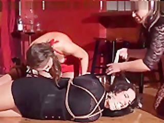 Sapphic Restraint Bondage