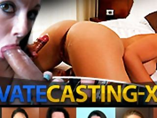 Private Casting X - Kelsey Kage - Cumsprayed At Faux Casting