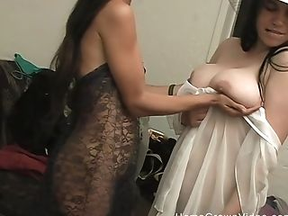 Sapphic Hard Fuck In The Bedroom Is A Fantasy Of Hot And Nasty Black-haired