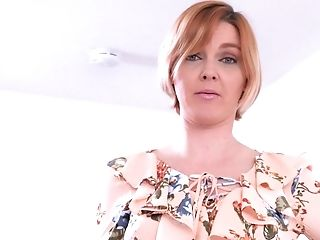 Sandy-haired Nymph Marie Mccray Wants To Fuck With A Neighbor In Point Of View
