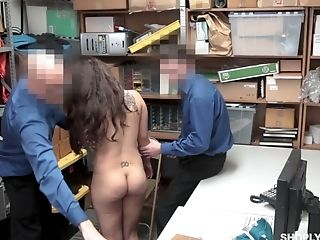 Bad Chick Ziggy Starlet Gets Her Gash Disciplined In The Back Room