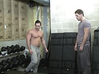 Queer Duo Suck And Pound Each Others Bums After A Workout