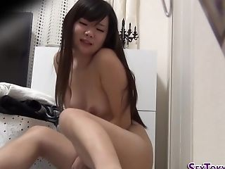 Solo Asian Teenager Touches