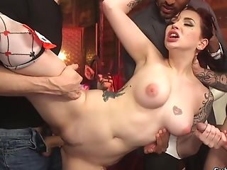 Sandy-haired Beauty Actress Grop Gonzo Humped