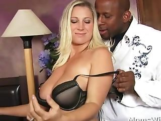 Big Tit Cougar Devon Lee A Hard Working Black Pecker Tester
