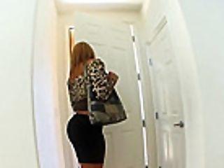 Special Big Black Cock Delivery For Blonde Mellanie Monroe