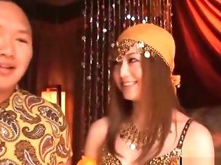 Asian Cutie Have Fun Arabic Dancer