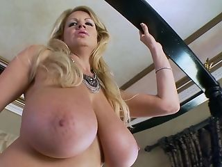 Stiff Dick Is All Kelly Madison Wants To Perceive Inbetween Her Tits