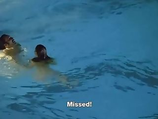 Ludivine Sagnier Nude Boobies And Blowage In Swimming Pool