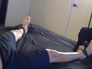 Str8 Asian Dude Albert Gets Kittle Tormented