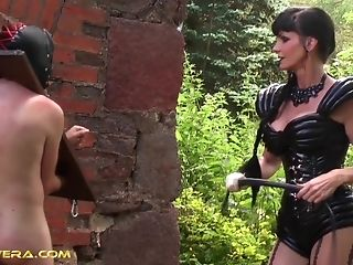 Carmen Rivera Doesn't Have A Grace When She Plays Bondage & Discipline With A Dude