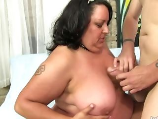 Matures Fatty Is Fucked In Her Mouth, Cunt & Rump