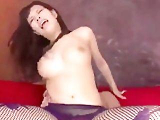 Threesome Extreme For Buxomy Asian Woman Kyouko Maki