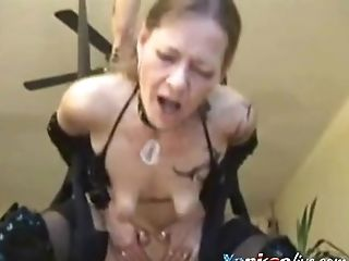 Unexperienced Cougar Gets Slammed By A Big Dick