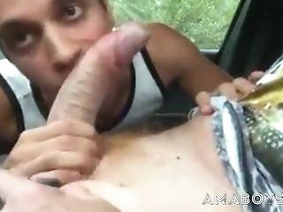 Ginger Trainer Suck And Fuck In Car Parked