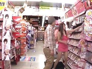 Ayaka Tomoda Attacks A Man In A Supermarket For A Xxx Fuck