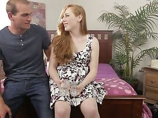 Torrid Crimson Haired Tranny Shiri Trap Gives A Oral Pleasure And Takes A Dick In Taut Bum Fuck-hole