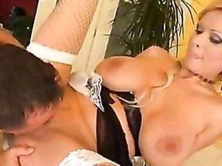 Incredible French Maid Euro Mega-bitch Fucked Hard