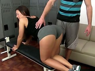 Pliable Chick Olivia Wilder Fucked Bad By Her Stunning Private Trainer