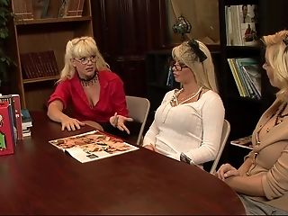 Mummy Librarian Tatum Pierce Fucks Principal