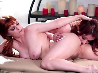 Penny Pax And Adria Rae - G/g Rubdown Fuckfest