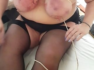 Scottish Cockslut Unwraps Her Assets