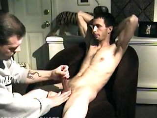 Gay-for-pay Boy Jake Comes Back For Another Wank Off Scene