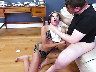 Steamy Spanking With Eden Sin Who Rails His Pulsating Dick