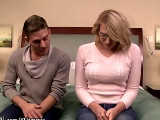 Amateur blonde fucks in audition 5