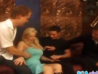 Swedish Pornographic Star Ingrid Gets Two Boners She Wants