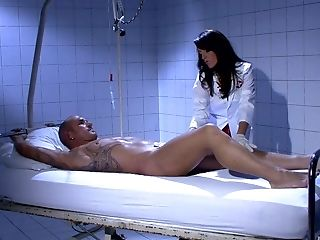 Switch Roles Cowgirl And Rear End Style Fuck-fest With Hot Nurse Celia Jones