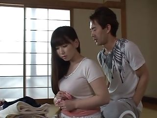 Bubbly Japanese Wifey Luvs Getting Her Puss Eaten Then Throbbed On The Sofa