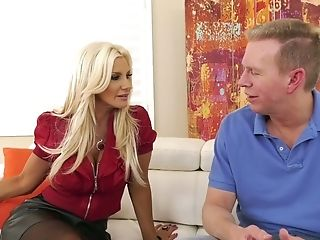 Insatiable Mark Wood Bangs Opened Up Rectal Fuck Hole Of Chesty Hooker Brittany Andrews