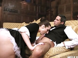 Flawless Milfie Maid Paige Turnah Is So Glad To Rail Strong Sausage On Top