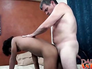 Patriarch Loves Fucking A Little Asian Lad