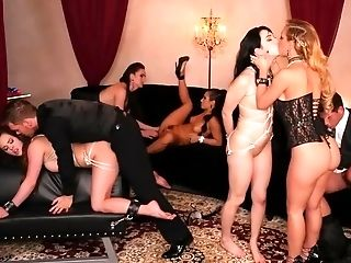 Orgy With Some Lucky Guys And Spear Thirsty Dolls