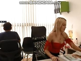 Office Hidden Webcam! Shhh My Accomplice Is Here 01