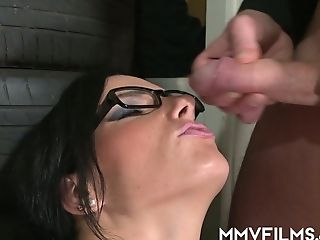 Intercourse-starved Black-haired Sina Velvet Is Glutton For Crazy And Hard-core Hump With Old Fart