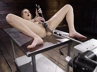 Solo Lady Uses The Sex Bot In A Rough Domination & Submission Have Fun
