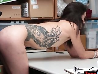 Petite Teenager Shoplifter Fucked Her Way Out Of Trouble