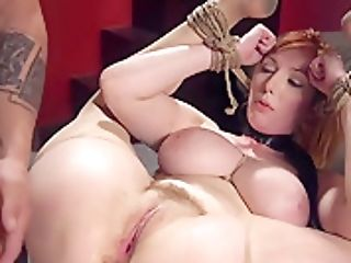 Humungous Tits Red-haired Sub Tits Whipped