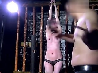 Asian Beauty In Sadism & Masochism Bdsm Area