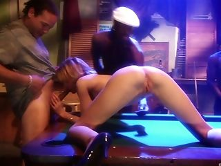 Xxx Public Group Sex For Blonde Tramp Emily Evermoore In A Bar