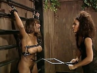 Randy Super-bitch Performs Spanking And Taunts Fuck-a-thon Bottom In Bondage & Discipline Movie