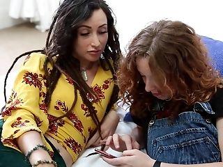 Hot Fledgling Teenagers Casual Girly-girl Romp Vid
