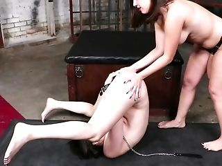 Two Lezzie Chicks Are Only Interested In Some Anal Torture