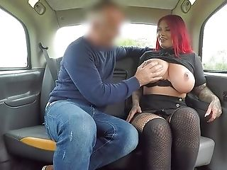 Tattooed Woman With Meaty Tits, Insane Back Seat Porno Practice