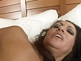 Exotic Bombshell Persia Monir Gets Her Trimmed Pubic Hair Drilled By Black Dick